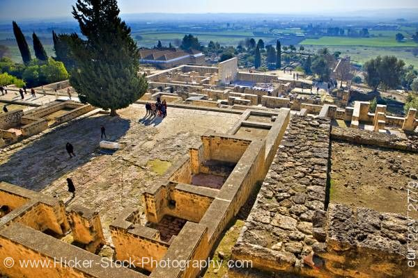 Stock photo of Ruins of Medina Azahara Province of Cordoba Andalusia Spain Europe