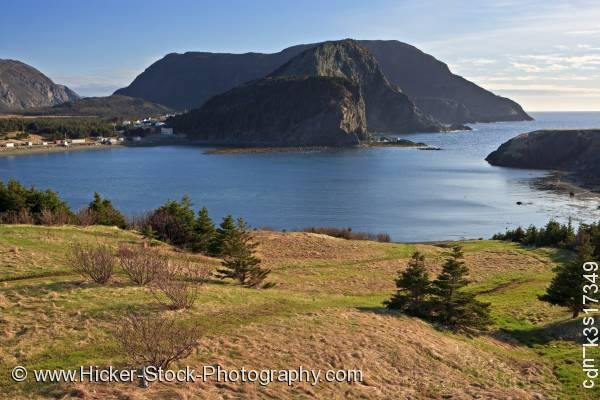 Stock photo of Scenery Bottle Cove Humber Arm Newfoundland