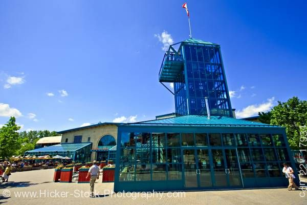 Stock photo of Market and Tower at the Forks a National Historic Site City of Winnipeg Manitoba Canada