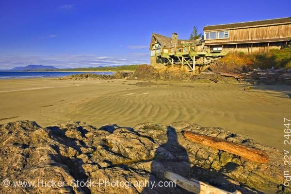 Stock photo of Wickaninnish Interpretive Centre Wickaninnish Bay Pacific Rim National Park British Columbia Canada