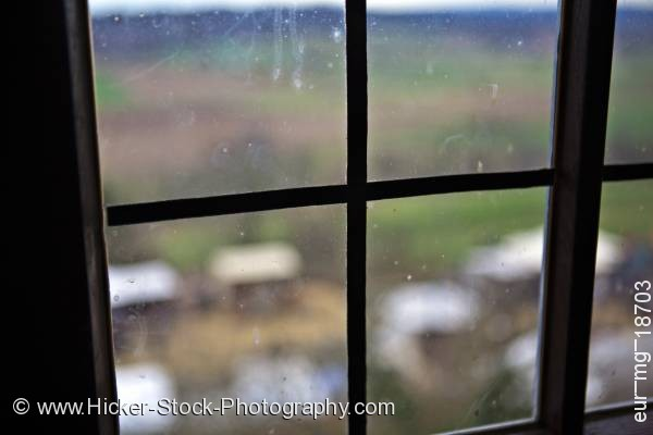 Stock photo of Window inside castle Ronneburg Germany